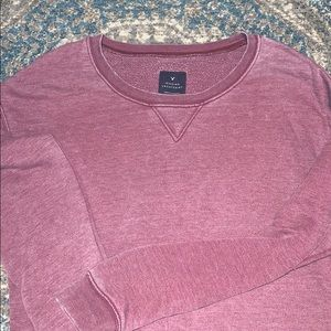 American Eagle — long, maroon sweater. Super soft